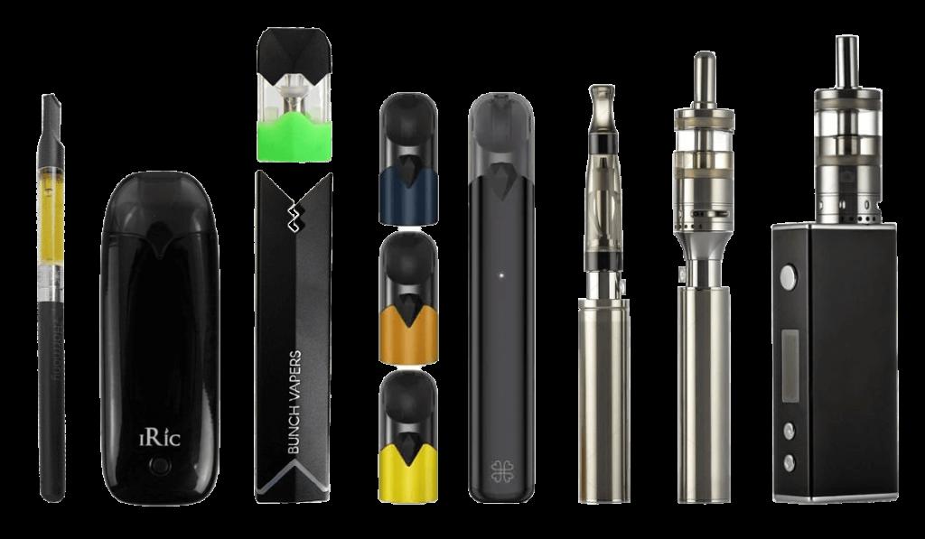 Typy elektronických cigariet