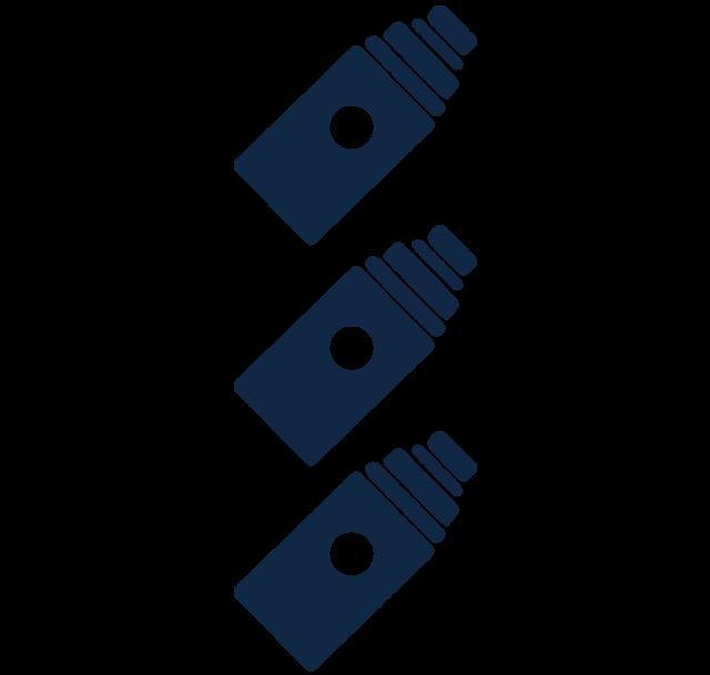 Vaping ikona - žhaviace hlavy