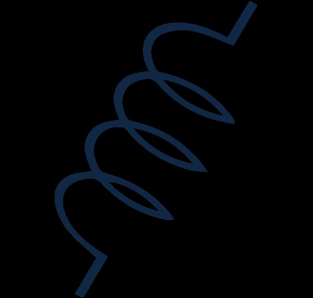 Vaping ikona - ohrevná špirálka