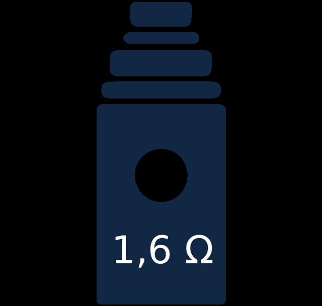 Vaping ikona - výber žhaviacej hlavy
