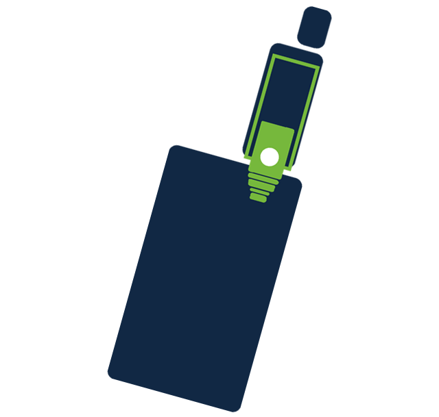 Vaping ikona - výber zariadenia